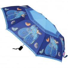 Компактный зонтик Laurel Burch, Indigo Cats (LBCU-U002A)