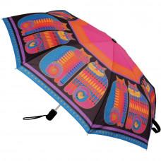 Компактный зонтик Laurel Burch, Rainbow Cat Cousins (LBCU-U001A)