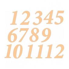 Цифры для часов арабские классические, 15 шт (НЧ-0029)