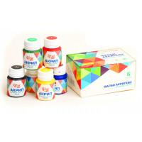 Набор акриловых красок, матовый, 6 цветов по 20 мл, ROSA START (90747127)