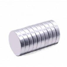 Неодимовые магниты Only 10 мм x 2 мм, 10 шт (323402)