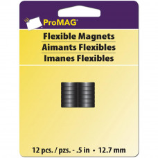 Набор магнитов ProMag, 12 шт, 12,7 мм (12353)