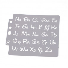 Трафарет многоразовый Only Алфавит (64)