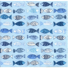 Салфетка Ждем рыбаков (181)