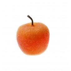 Декор Яблоко желто-красное в присыпке