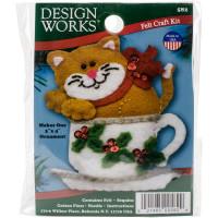 Набор для пошива игрушки Design Works Котик (DW582)