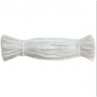 Набор меховой (синельной) проволоки, белый, 100 шт (01T-YDD)