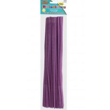 Меховая проволока Creative Arts 100 шт, 30 см, фиолетовая (CTA65460)