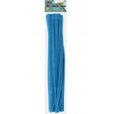 Меховая проволока Creative Arts 100 шт, 30 см, Голубая (CTA65415)