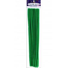 Меховая проволока Accent Design  25 шт, 30 см х 6мм, изумрудно-зеленый (ADB1098-P.16)