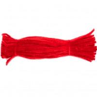 Набор меховой (синельной) проволоки, красный, 100 шт (06T-YDD)