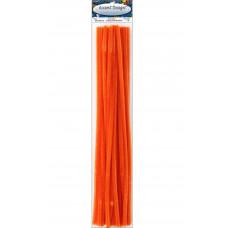 Меховая проволока Accent Design 25 шт, 30 см х 6мм, оранжевый (ADB1098-P.34)