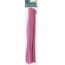 Меховая проволока Creative Arts 100 шт, 30 см, Светло-розовая (CTA65455)