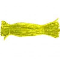 Набор меховой (синельной) проволоки, желтый, 100 шт (15T-YDD)