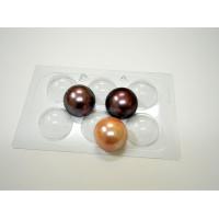 Пластиковая форма для шоколада Сферы 60 мм