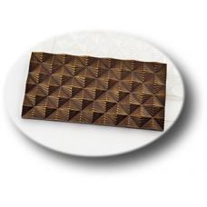Пластиковая форма для шоколада Плитка Инфлексия (0106)