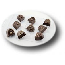 Пластиковая форма для шоколада Конфеты Восторг