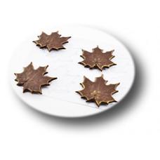 Пластиковая форма для шоколада Кленовые листья (089)