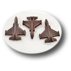Пластиковая форма для шоколада Истребитель (086)