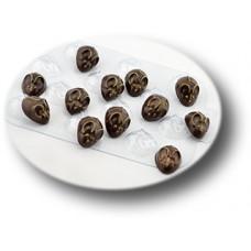 Пластиковая форма для шоколада Перепелиные мыши (0102)