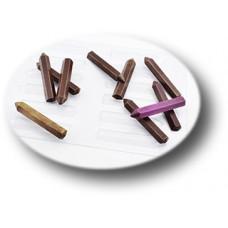 Пластиковая форма для шоколада Карандаши (087)