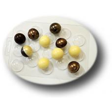 Пластиковая форма для шоколада Конфеты сферы 30 мм (093)