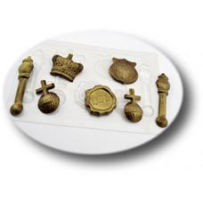 Пластиковая форма для шоколада Царский набор (0129)