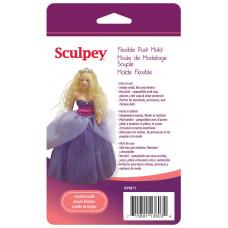 Форма для пластика Sculpey Flexible Push Mold Woman Doll (APM-71)