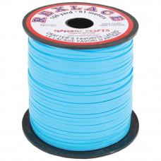 Плоский виниловый (пластиковый) шнур Pepperell, 2,4мм, голубой (RX100-08)