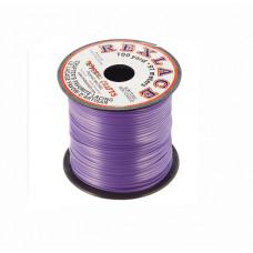 Плоский виниловый (пластиковый) шнур Pepperell, 2,4мм, неоновый фиолетовый (RX100-38)