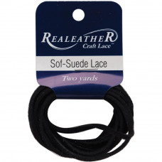 Шнур замшевый Realeather Crafts Sof-Suede Lace, готика (SPS02 2031)