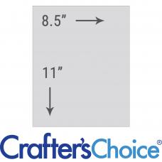 Водорастворимая бумага для вплавки в мыло Crafters Choice (05485)
