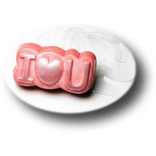 Форма для мыла Love you