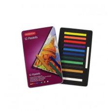 Набор цветной пастели Derwent Pastels, 12 цветов (D-36003)
