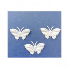 Аппликация пришивная Бабочка Only, белый, 3 шт (EM-00035)
