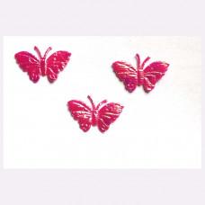 Аппликация пришивная Бабочка Only Бабочка, розовый металлик (ЕМ-00004)
