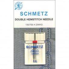Игла для мережек двойная Schmetz №100 (1773)