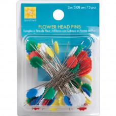 Декоративные булавки Яркие цветы (881428)