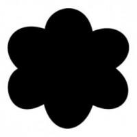 Фигурный дырокол Чарівна Мить Цветочек (CD99XS/69)