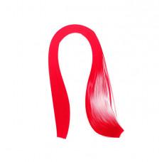 Бумага для квиллинга, 100 шт, 6мм Чарівна мить, красная (26508-5)