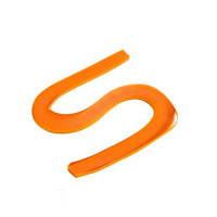 Бумага для квиллинга, 100 шт, 6мм Чарівна мить, оранжевая (26503-4)