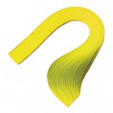 Бумага для квиллинга, 100 шт, 6мм Чарівна мить, лимонная (26503-2)