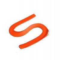 Бумага для квиллинга, 100 шт, 6мм Чарівна мить, морковная (26508-4)