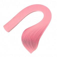 Бумага для квиллинга, 100 шт, 6мм Чарівна мить, розовый-пастель (26509-4)