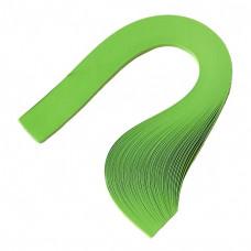 Бумага для квиллинга, 100 шт, 6мм Чарівна мить, зеленая (26508-3)