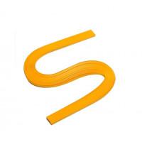 Бумага для квиллинга, 100 шт, 6мм Чарівна мить, желтая (26508-1)