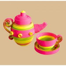 Набор для квиллинга Чарівна мить Игрушечная посуда (КВ-015)