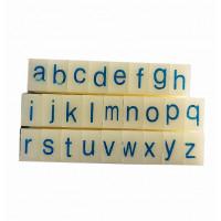 Штамп наборный Only Английский алфавит (72107)
