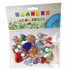 Стразы пластиковые 1 Вересня Сердца и бабочки (К24/950222)