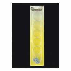 Форма для изготовления свечей Tea Light Cups Wick Clips Clear (111015)